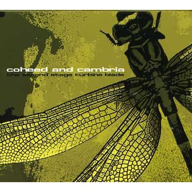 Coheed and Cambria SECOND STAGE TURBINE BLADE CD