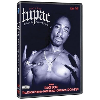 Tupac LIVE AT THE HOUSE OF BLUES DVD