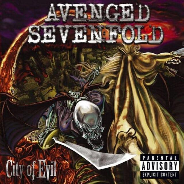 Avenged Sevenfold CITY OF EVIL Vinyl Record
