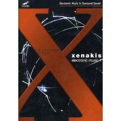 Iannis Xenakis LEGENDE D'EER FOR MULTICHANNEL TAPE DVD