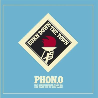 Phon.O BURN DOWN THE TOWN CD
