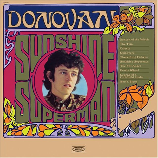 Donovan SUNSHINE SUPERMAN Vinyl Record
