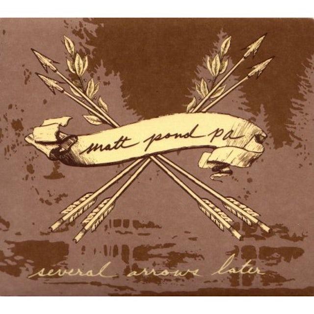 Matt Pond PA SEVERAL ARROWS LATER CD
