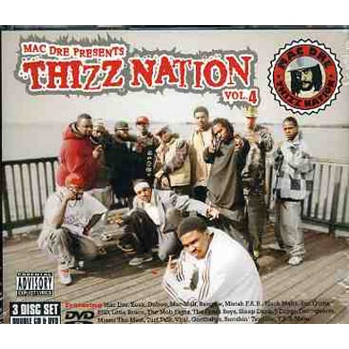 MAC DRE PRESENTS THIZZ NATION 4 CD