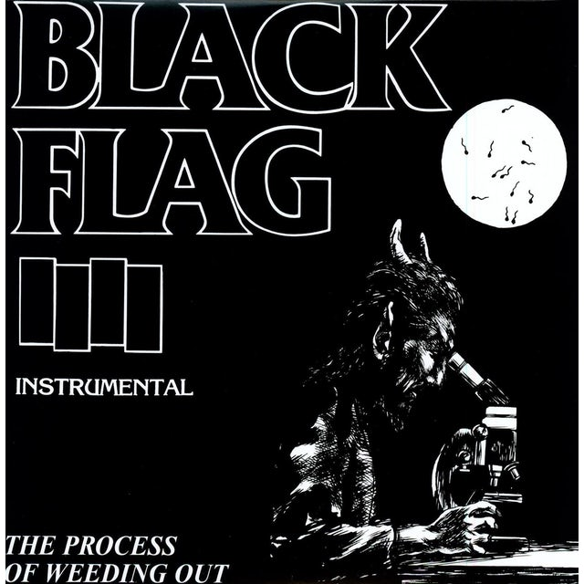 Black Flag PROCESS OF WEEDING OUT Vinyl Record