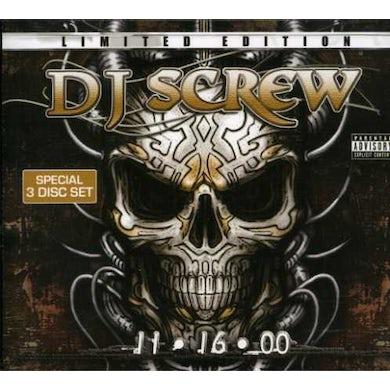 DJ Screw 11-16-00 CD