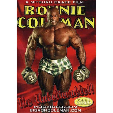 Ronnie Coleman UNBELIEVEABLE DVD