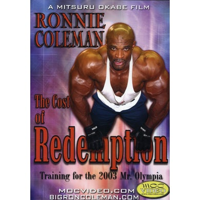 Ronnie Coleman COST OF REDEMPTION DVD
