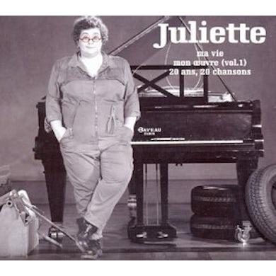 JULIETTE MA VIE MON OEUVRE 1 CD