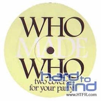 Whomadewho SATISFACTION / FLAT BEAT Vinyl Record