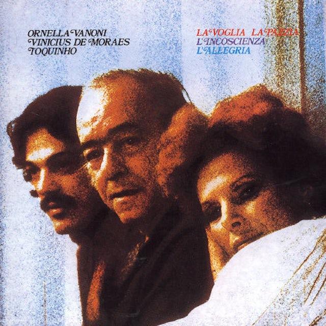 Ornella Vanoni LA VOGLIA LA PAZZIA CD
