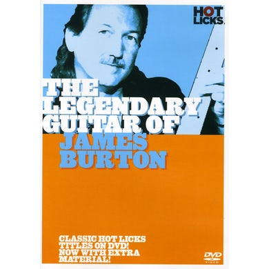 LEGENDARY GUITAR OF JAMES BURTON DVD
