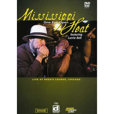 Mississippi Heat ONE EYE OPEN: LIVE AT ROSA'S LOUNGE CHICAGO DVD
