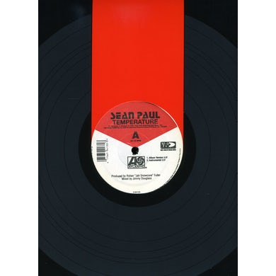 Sean Paul TEMPERATURE Vinyl Record