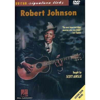 Scott Ainslie ROBERT JOHNSON GUITAR SIGNATURE LICKS SERIES DVD