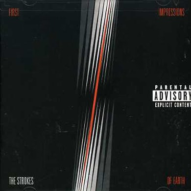 The Strokes FIRST IMPRESSIONS OF EARTH CD