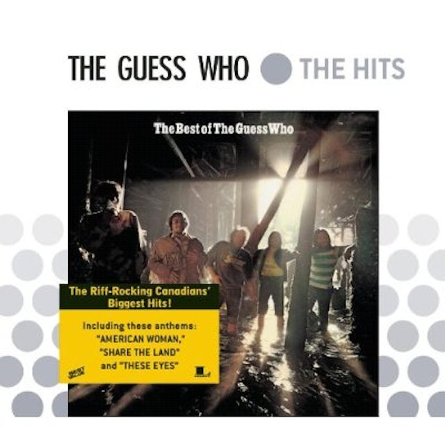 Guess Who BEST OF CD