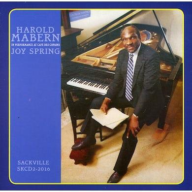 Harold Mabern JOY SPRING IN PERFORMANCE CD
