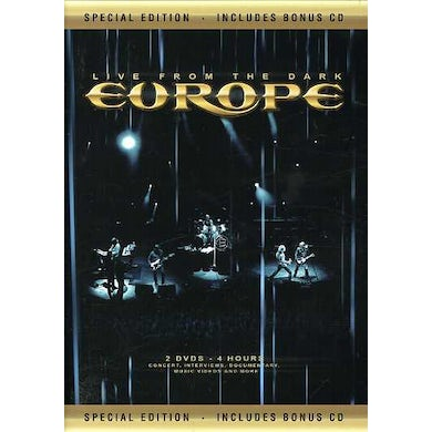 Europe LIVE FROM THE DARK DVD