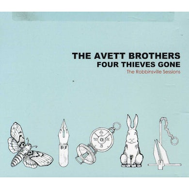 The Avett Brothers FOUR THIEVES GONE: THE ROBBINSVILLE SESSIONS CD