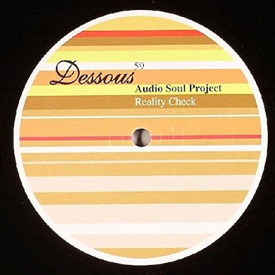 Audio Soul Project REALITY CHECK Vinyl Record