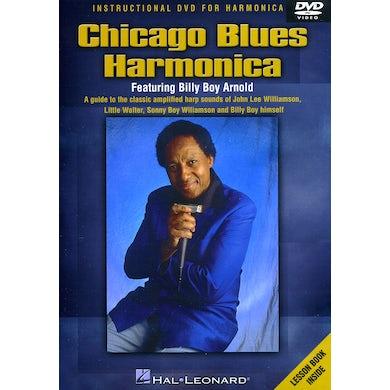 Billy Boy Arnold CHICAGO BLUES HARMONICA DVD
