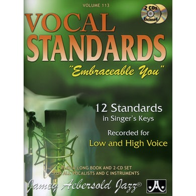 Jamey Aebersold VOCAL STANDARDS: EMBRACEABLE YOU CD