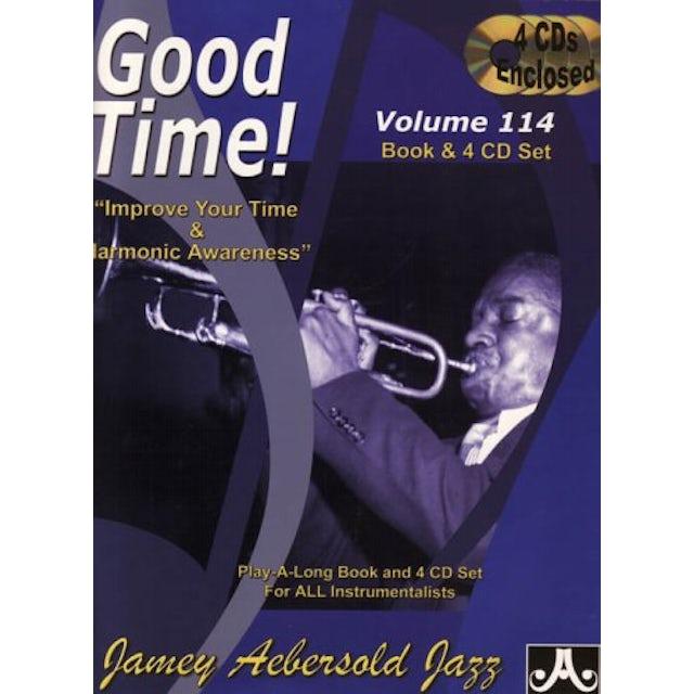 Jamey Aebersold GOOD TIME: IMPROVE YOUR TIME & HARMONIC AWARENESS CD