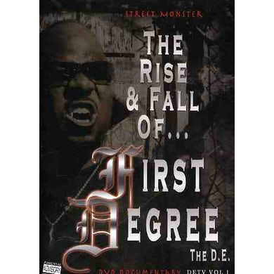 STREET MONSTER: RISE & FALL OF FIRST DEGREE THE DE DVD