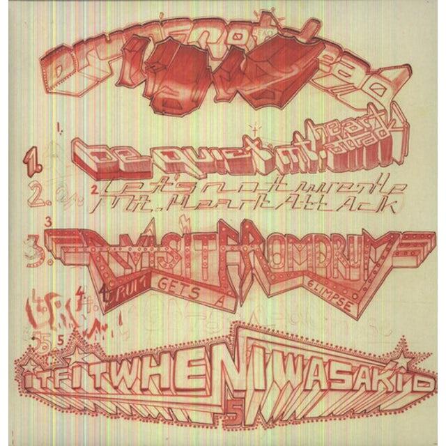 Liars DRUMS NOT DEAD Vinyl Record - 180 Gram Pressing, Reissue