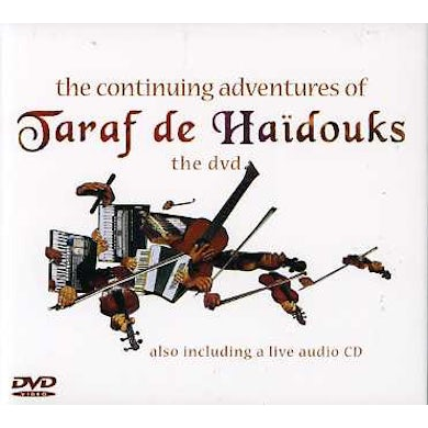 CONTINUING ADVENTURE OF TARAF DE HAIDOUKS CD