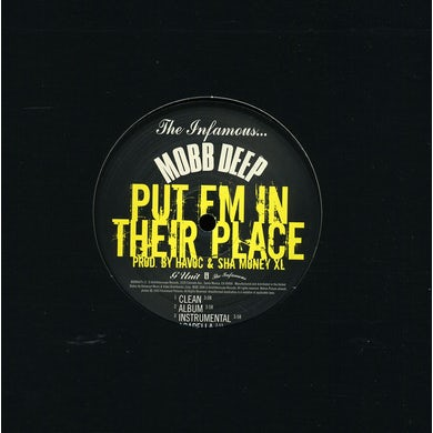 Mobb Deep PUT EM IN THEIR PLACE (X4) Vinyl Record