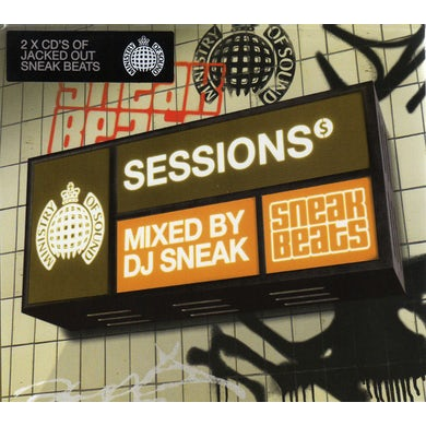 SESSIONS MIXED BY DJ SNEAK CD