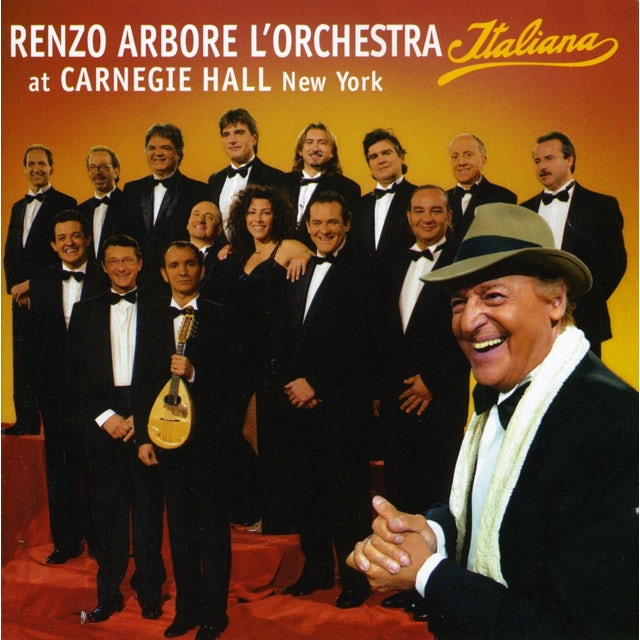 Renzo Arbore L'ORCHESTRA ITALIANA AT CARNEIGE HALL CD