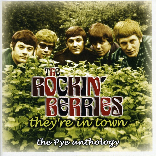 Rockin Berries THEY'RE IN TOWN: THE PYE ANTHOLOGY CD