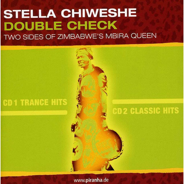 Stella Chiweshe DOUBLE CHECK CD