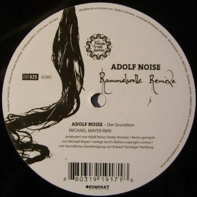 Adolf Noise RAMMELWOLLE REMIXE Vinyl Record