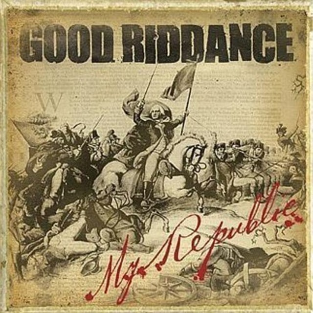 Good Riddance MY REPUBLIC Vinyl Record