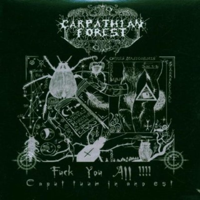 Carpathian Forest FUCK YOU ALL CD