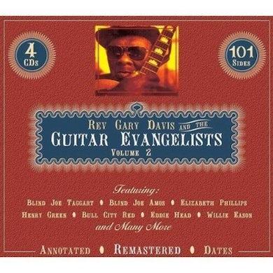 Rev Gary Davis GUITAR EVANGELISTS 2 CD