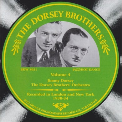 Dorsey Brothers VOLUME 4 CD