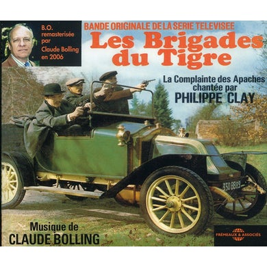 Claude Bolling  BRIGADES DU TIGRE: BO SERIE TV REMASTERISEE - Original Soundtrack CD