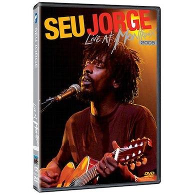 Seu Jorge LIVE AT MONTREUX 2005 DVD
