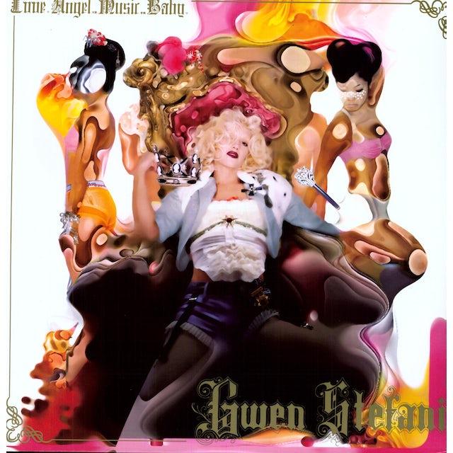 Gwen Stefani LOVE ANGEL MUSIC BABY Vinyl Record
