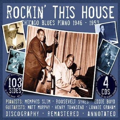 Slim Memphis  ROCKIN THIS HOUSE CD