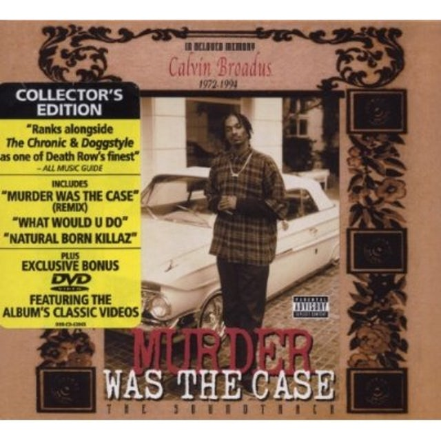Snoop Dogg MURDER WAS THE CASE: SOUNDTRACK CD