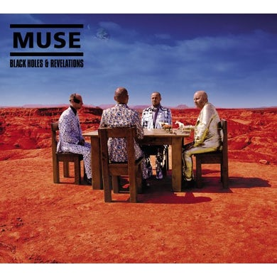 Muse BLACK HOLES & REVELATIONS CD