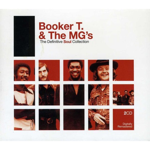 Booker T. & the M.G.'s DEFINITIVE SOUL CD