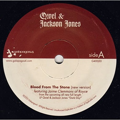 Jackson Qwel / Jones BLOOD FROM THE STONE Vinyl Record
