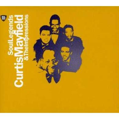 Curtis Mayfield SOUL LEGENDS CD